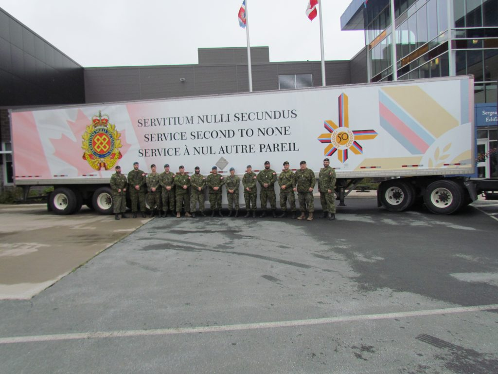 Canadian Forces Logistics 50th Anniversary Colours